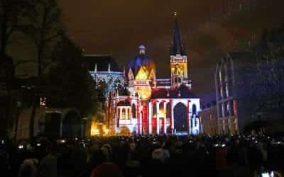 Aachen Cathedral Projection Mapping