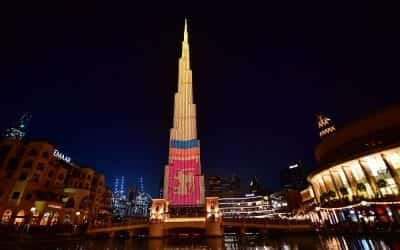 Burj Khalifa – V-Stick Led Upgrade