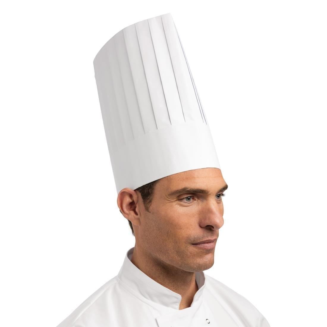 Disposable Chefs Hat White (Pack of 50)