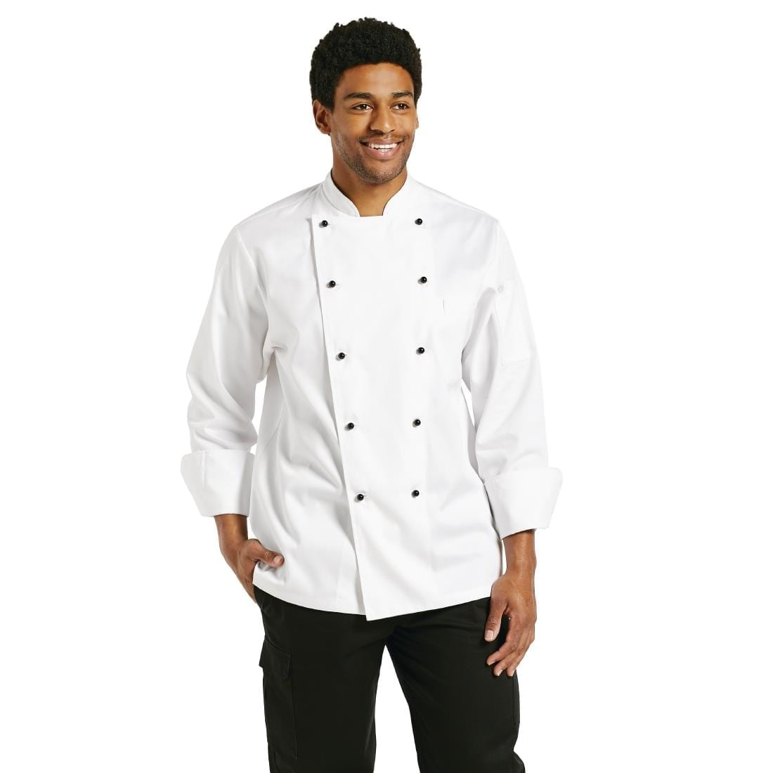 Chef Works Chaumont Unisex Chefs Jacket Long Sleeve M