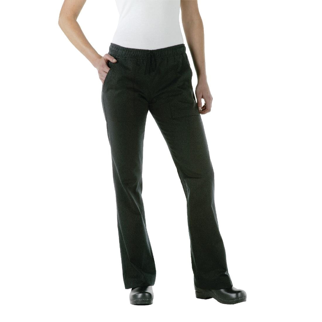 Chef Works Womens Executive Chef Trousers Black  XXL