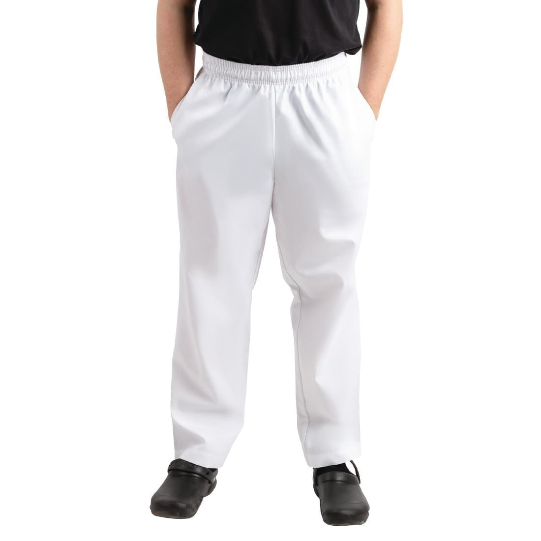 Whites Easyfit Trousers Teflon White XS