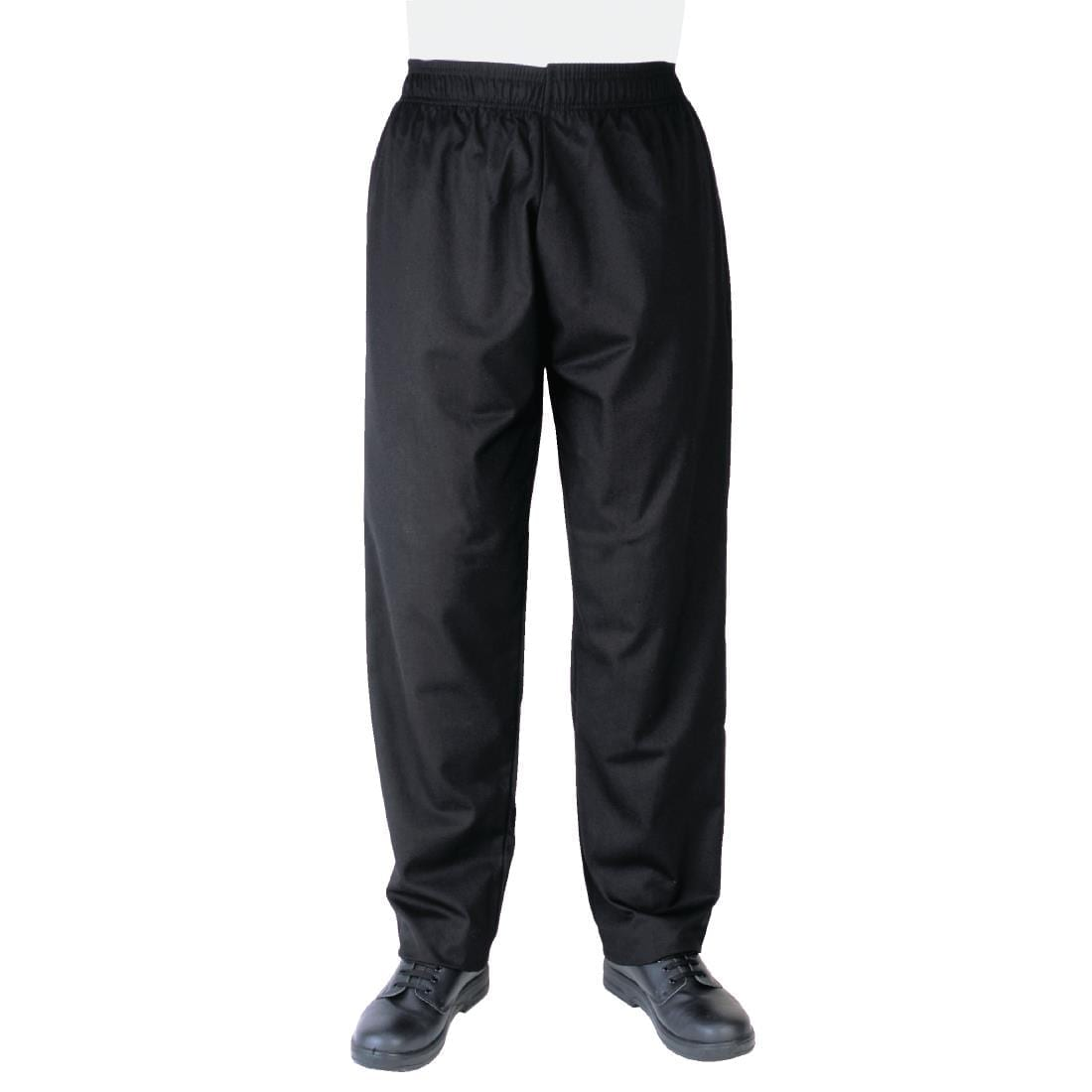 Whites Vegas Chef Trousers Polycotton Black – XXL