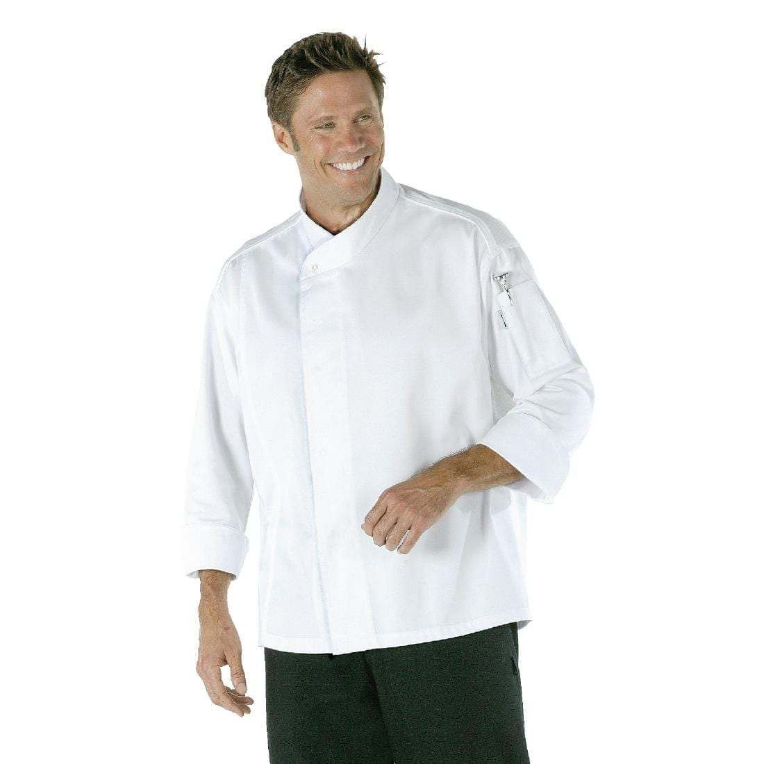 Chef Works Tours Cool Vent Unisex Chefs Jacket White XL
