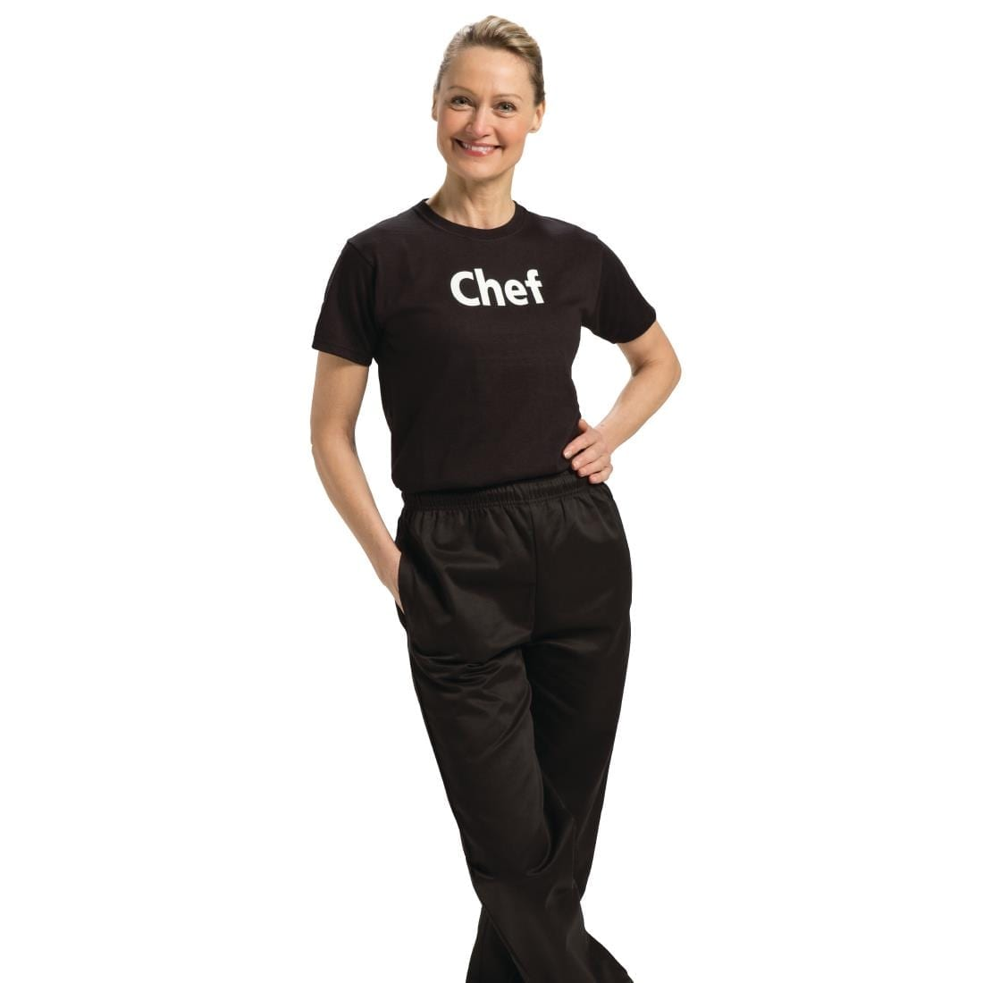 Printed Unisex Chef T-Shirt M