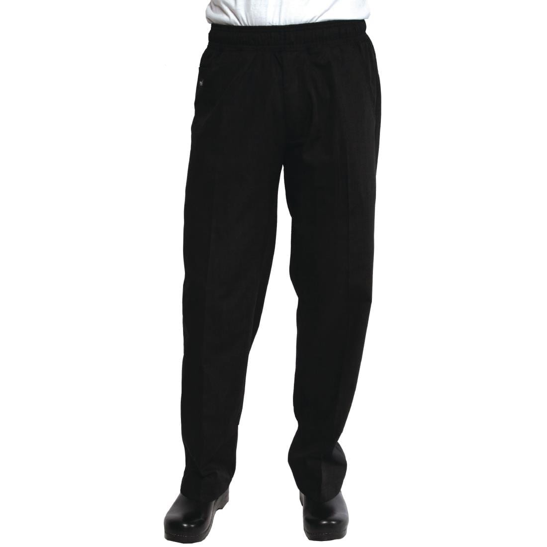 Chef Works Unisex Better Built Baggy Chefs Trousers Black 4XL