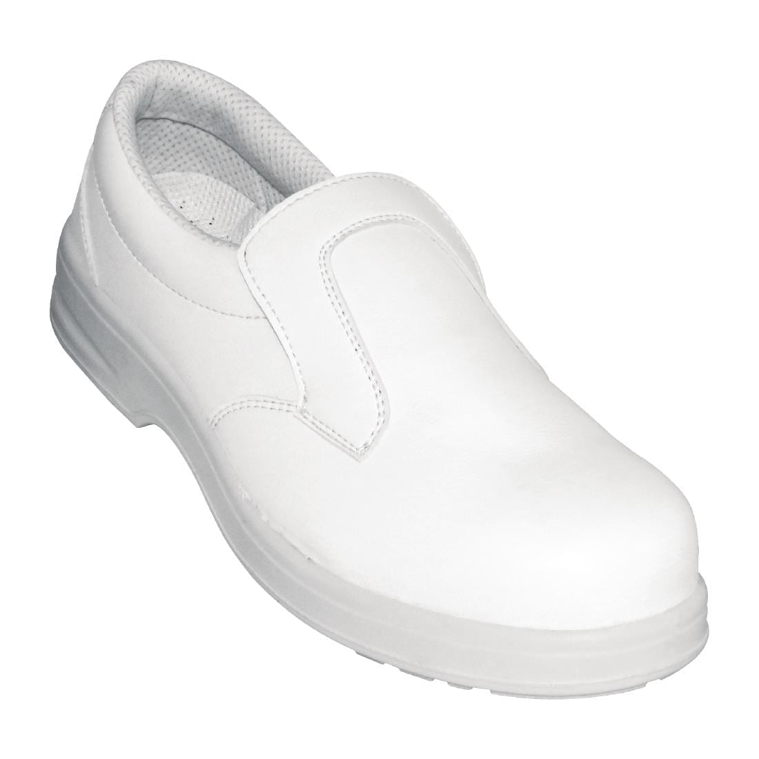 Lites Unisex Safety Slip On White Size 43