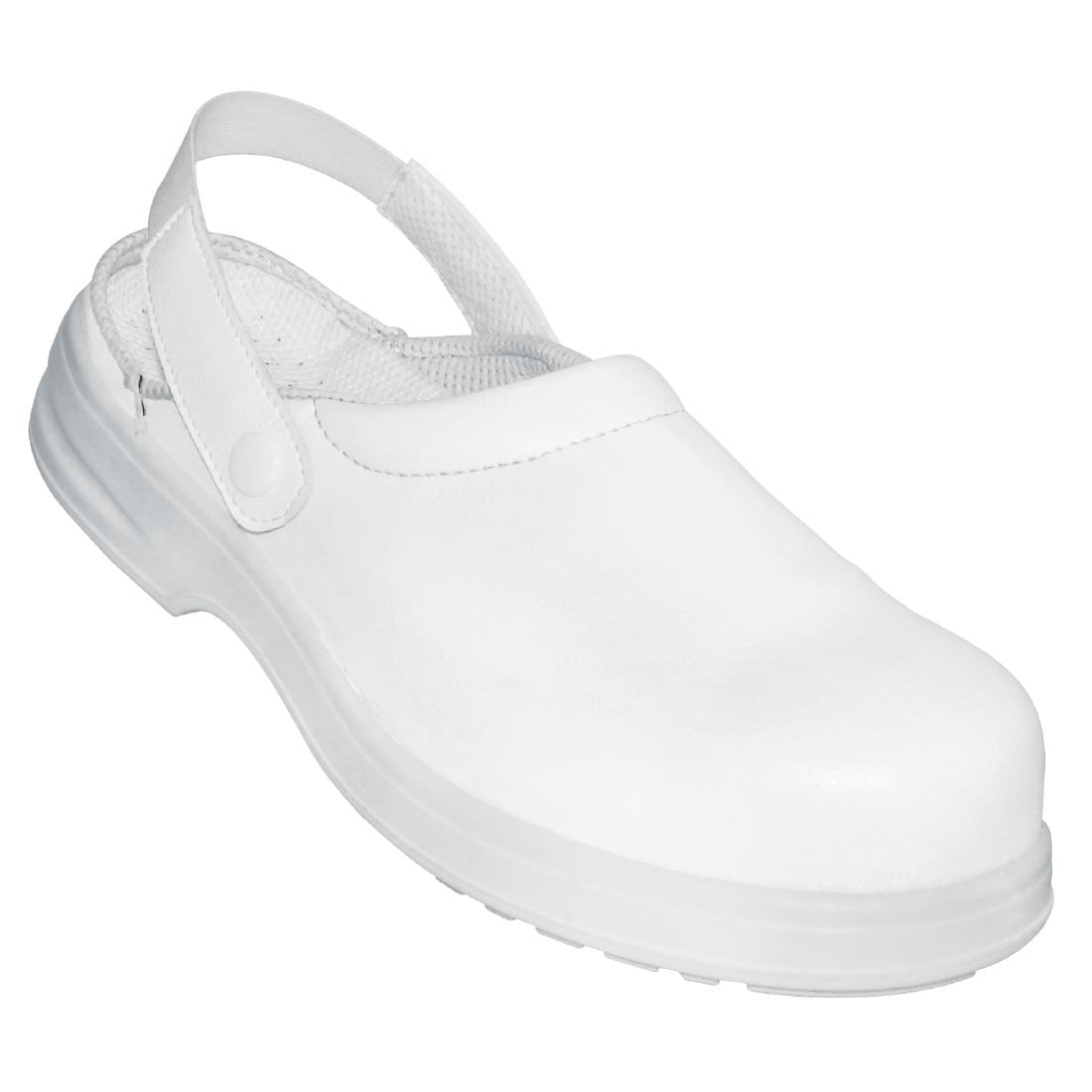 Lites Unisex Safety Clog White 36