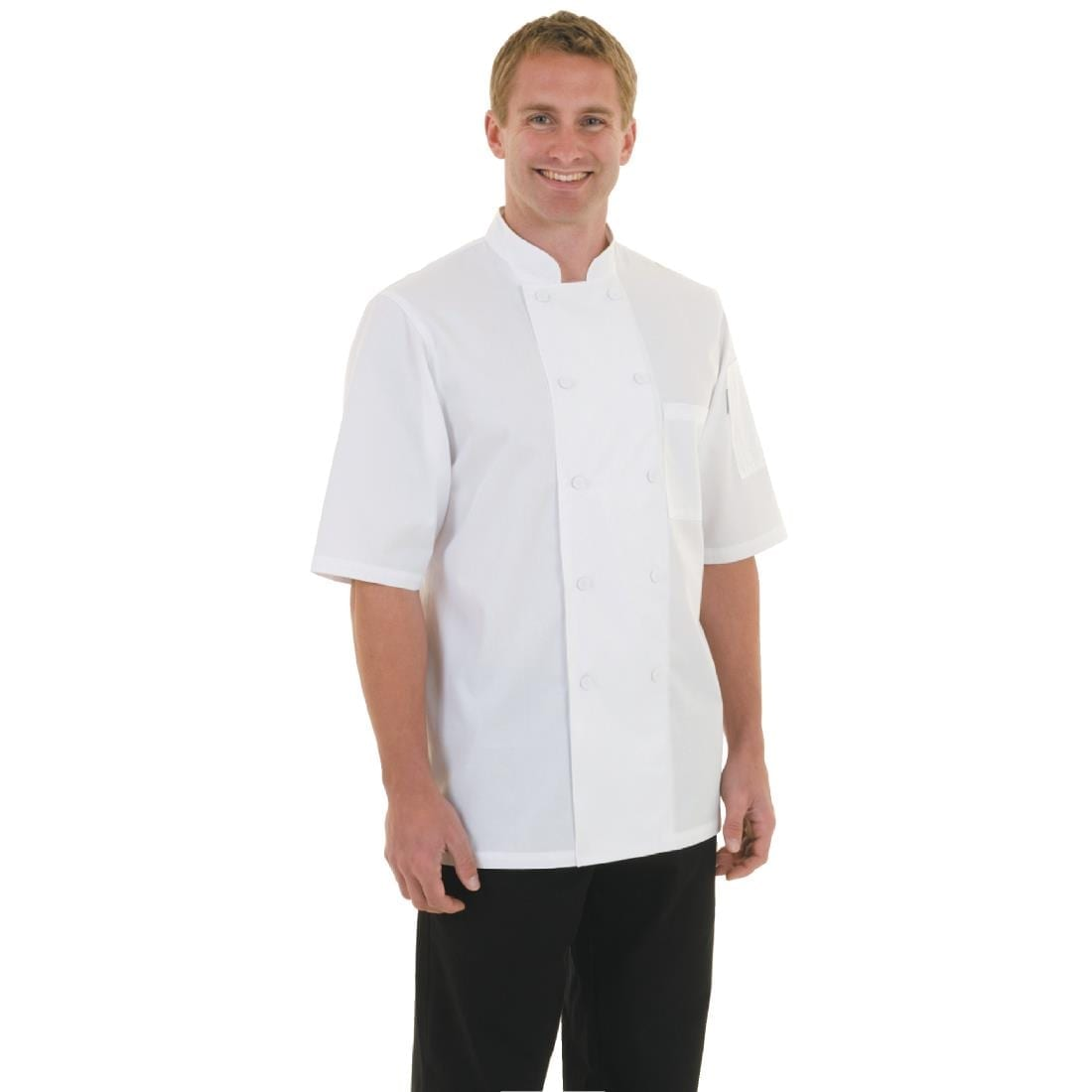 Chef Works Montreal Cool Vent Unisex Chefs Jacket White 3XL
