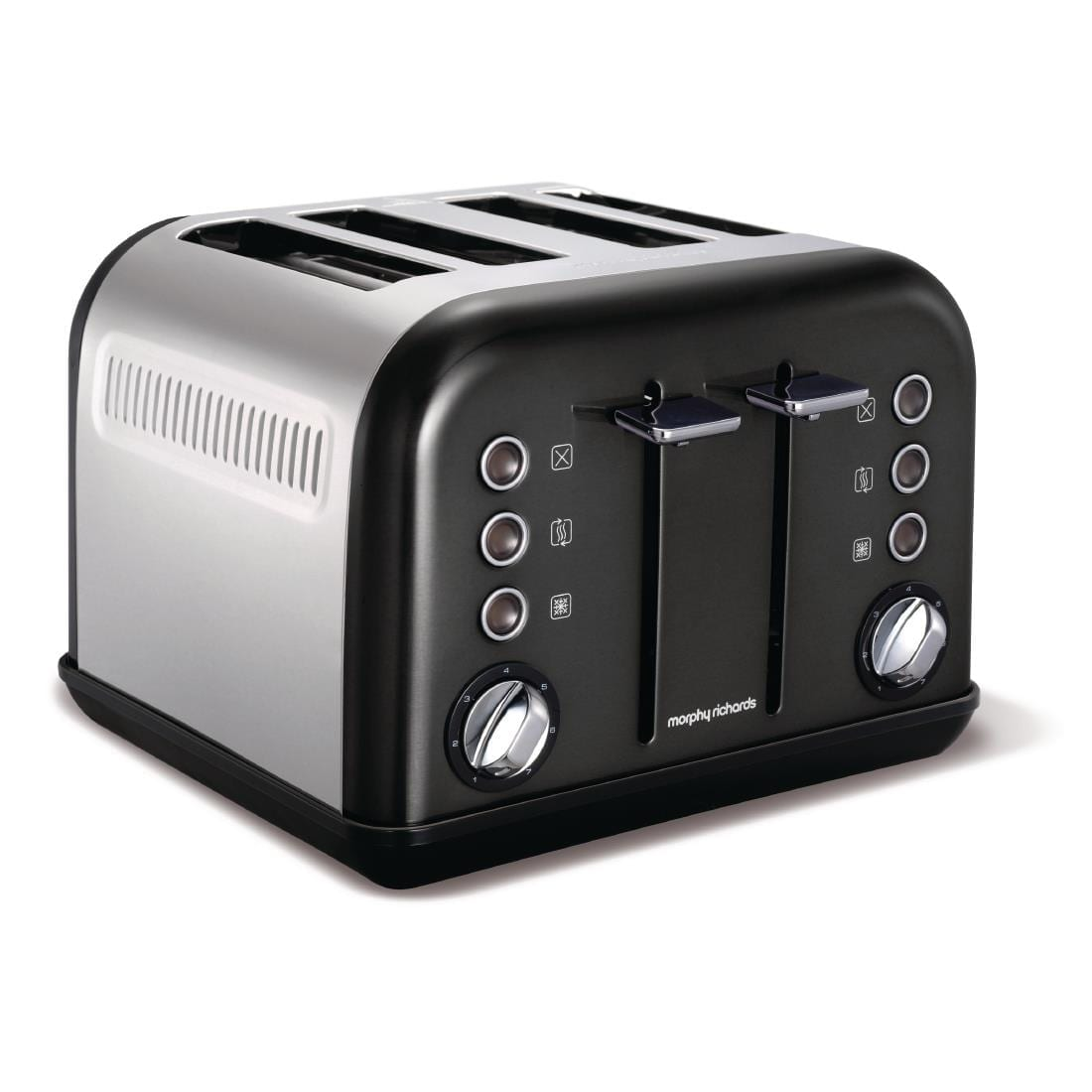 Morphy Richards Toaster New Accents 4 Slice  Black
