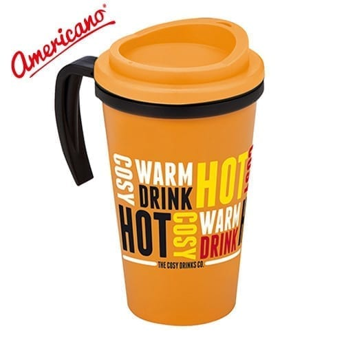 Americano Grande 350ml Thermal Mugs
