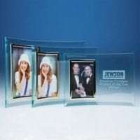 Bevelled Glass Crescent for 3 1/2″ x 5″ Vertical Photos