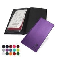 Belluno PU Economy Travel Wallet with Gusseted Pocket