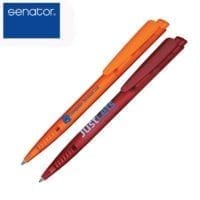 Senator Dart Clear Ball Pens