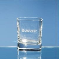 8oz Strauss Square Whisky Tumblers
