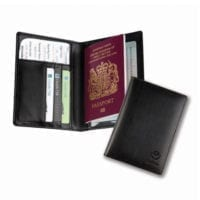 Balmoral Leather Deluxe Passport Wallets