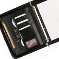 Balmoral Leather A4 Deluxe Zipped Ring Binders