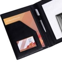Ascot Leather A5 Conference Folders